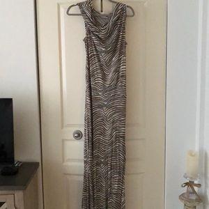 Trina Turk hooded maxi dress